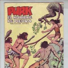 Tebeos: PURK, EL HOMBRE PIEDRA - EL TRIUNFO DE TUGOR - Nº 25 - ED. VALENCIANA 1974. Lote 203407002