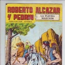 Tebeos: ROBERTO ALCAZAR Y PEDRIN EN LA FLECHA MARCADA - Nº 208 - ED. VALENCIANA 1980. Lote 203407168