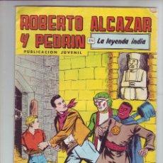 Tebeos: ROBERTO ALCAZAR Y PEDRIN EN LA LEYENDA INDIA - Nº 222 - ED. VALENCIANA 1980. Lote 203407180