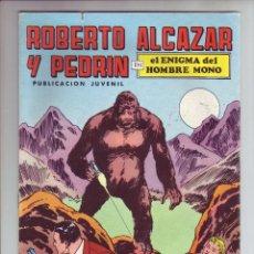 Tebeos: ROBERTO ALCAZAR Y PEDRIN EN EL ENIGMA DEL HOMBRE MONO - Nº 19 - ED. VALENCIANA 1976. Lote 203407215