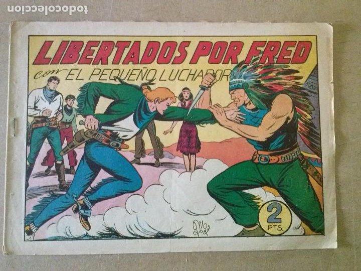 EL PEQUEÑO LUCHADOR - VALENCIANA - Nº 105 , 1ª EDICION , ORIGINAL (Tebeos y Comics - Valenciana - Pequeño Luchador)