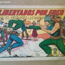 Tebeos: EL PEQUEÑO LUCHADOR - VALENCIANA - Nº 105 , 1ª EDICION , ORIGINAL. Lote 203787120