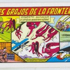 Tebeos: REEDICION - ROBERTO ALCAZAR - NÚM. 27: LOS GRAJOS DE LA FRONTERA - AÑO 1982 - PERFECTO ESTADO. Lote 203885481