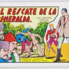 Tebeos: REEDICION - ROBERTO ALCAZAR - NÚM. 31: EL RESCATE DE LA ESMERALDA - AÑO 1982 - PERFECTO ESTADO. Lote 203924173