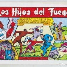 Tebeos: REEDICION - ROBERTO ALCAZAR - NÚM. 34: LOS HIJOS DEL FUEGO - AÑO 1982 - PERFECTO ESTADO. Lote 203926205