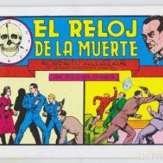Tebeos: REEDICION - ROBERTO ALCAZAR - NÚM. 41: EL RELOJ DE LA MUERTE - AÑO 1982 - PERFECTO ESTADO. Lote 203933921