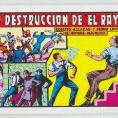 Tebeos: REEDICION - ROBERTO ALCAZAR - NÚM. 52: LA DESTRUCCIÓN DE EL RAYO - AÑO 1982 - PERFECTO ESTADO. Lote 203943700