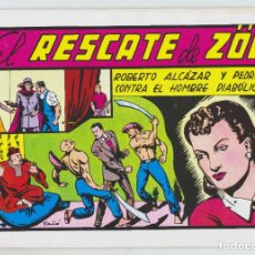 Tebeos: REEDICION - ROBERTO ALCAZAR Y PEDRÍN - NÚM. 54: EL RESCATE DE ZÖE - AÑO 1982 - PERFECTO ESTADO. Lote 203944336