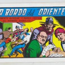 Tebeos: REEDICION - ROBERTO ALCAZAR Y PEDRÍN - NÚM. 55: A BORDO DEL ORIENTE - AÑO 1982 - PERFECTO ESTADO. Lote 203944581