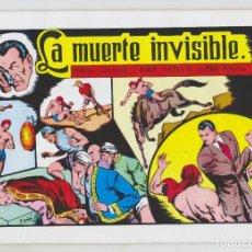 Tebeos: REEDICION - ROBERTO ALCAZAR Y PEDRÍN - NÚM. 58: LA MUERTE INVISIBLE - AÑO 1982 - PERFECTO ESTADO. Lote 203945402