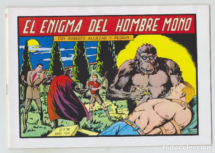 REEDICION - ROBERTO ALCAZAR Y PEDRÍN - NÚM. 59: EL ENIGMA DEL HOMBRE MONO - 1982 - PERFECTO ESTADO (Tebeos y Comics - Valenciana - Roberto Alcázar y Pedrín)