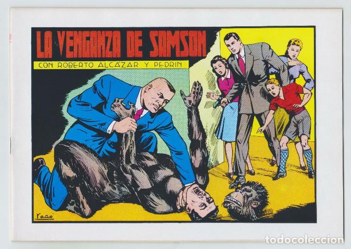 REEDICION - ROBERTO ALCAZAR Y PEDRÍN - NÚM. 60: LA VENGANZA DE SAMSON - 1982 - PERFECTO ESTADO (Tebeos y Comics - Valenciana - Roberto Alcázar y Pedrín)