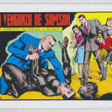 Tebeos: REEDICION - ROBERTO ALCAZAR Y PEDRÍN - NÚM. 60: LA VENGANZA DE SAMSON - 1982 - PERFECTO ESTADO. Lote 203945955