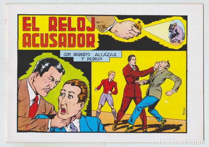 REEDICION - ROBERTO ALCAZAR Y PEDRÍN - NÚM. 64: EL RELOJ ACUSADOR - 1982 - PERFECTO ESTADO (Tebeos y Comics - Valenciana - Roberto Alcázar y Pedrín)