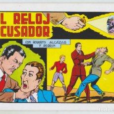 Tebeos: REEDICION - ROBERTO ALCAZAR Y PEDRÍN - NÚM. 64: EL RELOJ ACUSADOR - 1982 - PERFECTO ESTADO. Lote 203981883