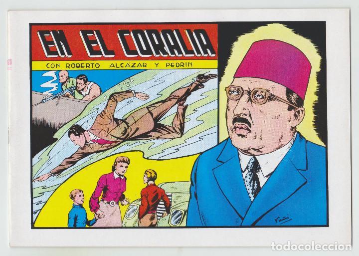REEDICION - ROBERTO ALCAZAR Y PEDRÍN - NÚM. 66: EN EL CORALIA - 1982 - PERFECTO ESTADO (Tebeos y Comics - Valenciana - Roberto Alcázar y Pedrín)