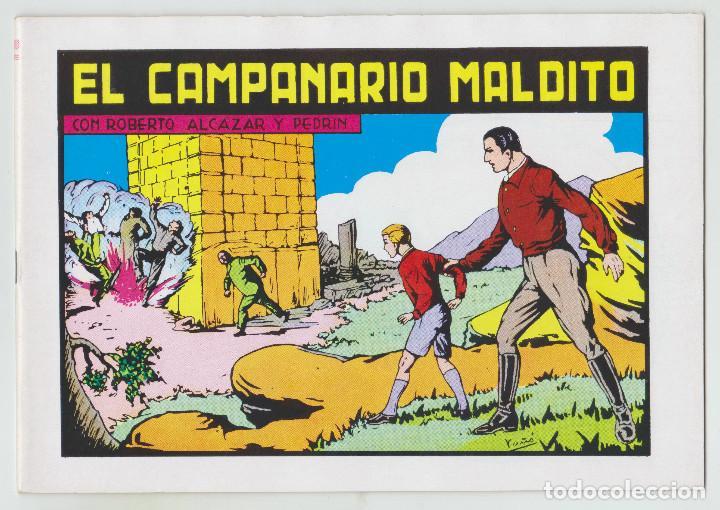 REEDICION - ROBERTO ALCAZAR Y PEDRÍN - NÚM. 67: EL CAMPANARIO MALDITO - 1982 - PERFECTO ESTADO (Tebeos y Comics - Valenciana - Roberto Alcázar y Pedrín)