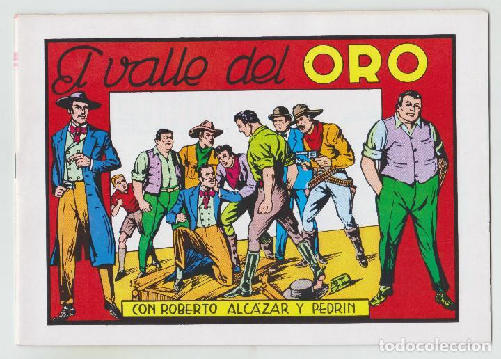 REEDICION - ROBERTO ALCAZAR Y PEDRÍN - NÚM. 68: EL VALLE DEL ORO - 1982 - PERFECTO ESTADO (Tebeos y Comics - Valenciana - Roberto Alcázar y Pedrín)
