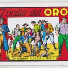 Tebeos: REEDICION - ROBERTO ALCAZAR Y PEDRÍN - NÚM. 68: EL VALLE DEL ORO - 1982 - PERFECTO ESTADO. Lote 203983742