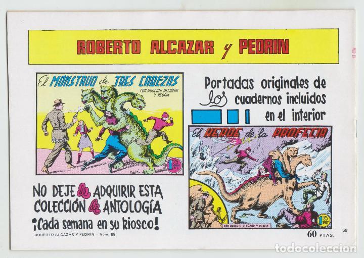 Tebeos: REEDICION - ROBERTO ALCAZAR Y PEDRÍN - NÚM. 69: CHARLIE JACK - 1982 - PERFECTO ESTADO - Foto 2 - 203984195