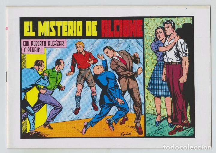 REEDICION - ROBERTO ALCAZAR Y PEDRÍN - NÚM. 72: EL MISTERIO DE ALCIONE - 1982 - PERFECTO ESTADO (Tebeos y Comics - Valenciana - Roberto Alcázar y Pedrín)