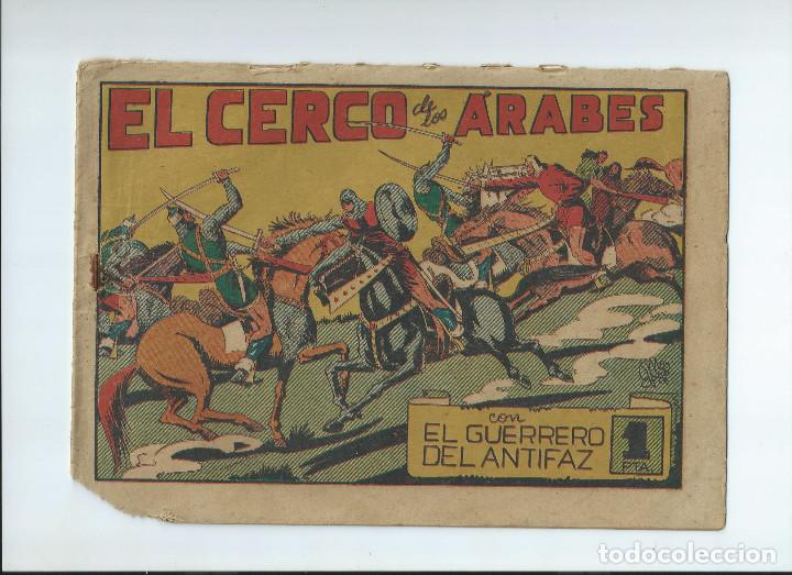 Tebeos: LOTE 10 NUMEROS GUERRERO DEL ANTIFAZ ORIGINALES, EN REGULAR ESTADO - Foto 3 - 204200875
