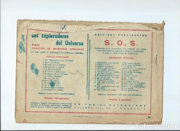 Tebeos: LOTE 10 NUMEROS GUERRERO DEL ANTIFAZ ORIGINALES, EN REGULAR ESTADO - Foto 7 - 204200875