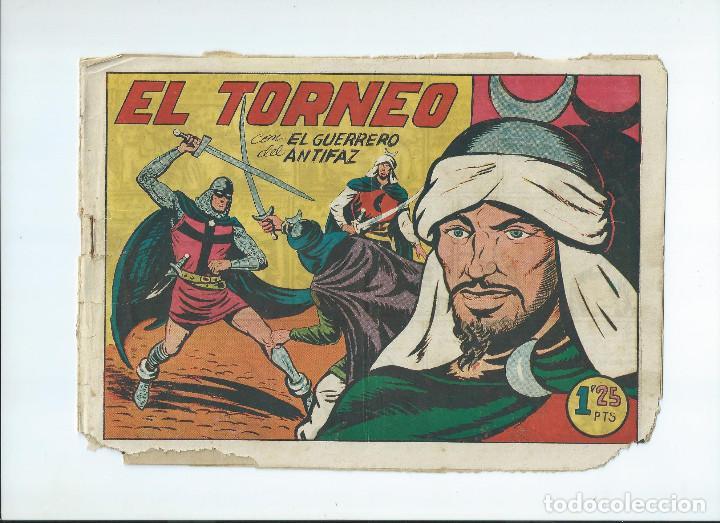 Tebeos: LOTE 10 NUMEROS GUERRERO DEL ANTIFAZ ORIGINALES, EN REGULAR ESTADO - Foto 9 - 204200875