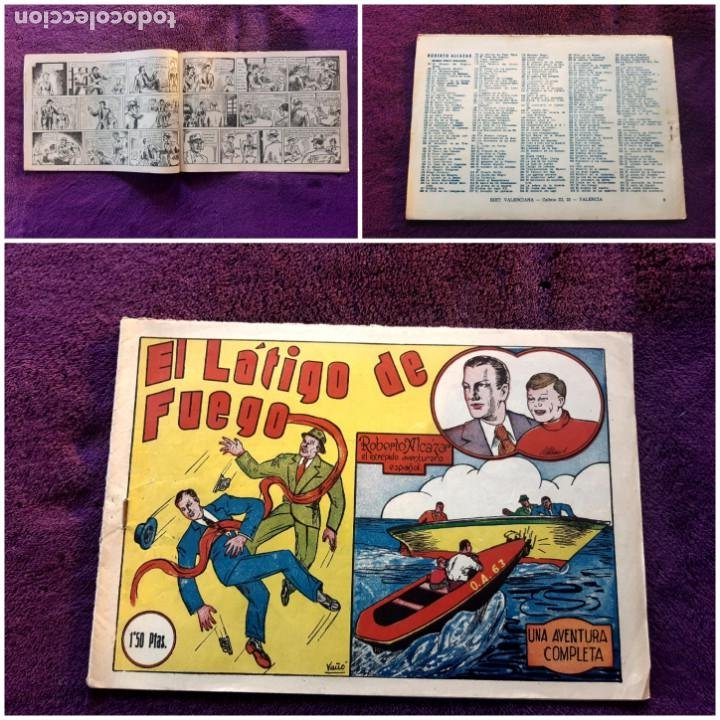ROBERTO ALCAZAR Nº 8 1,50 PTAS BUEN ESTADO (Tebeos y Comics - Valenciana - Roberto Alcázar y Pedrín)