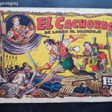 Tebeos: TEBEO / CÓMIC ORIGINAL EL CACHORRO N 10 VALENCIANA 1951 APAISADO. Lote 204326660
