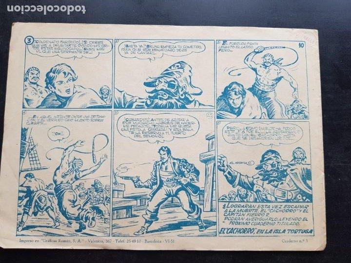 Tebeos: TEBEO / CÓMIC ORIGINAL EL CACHORRO N 3 VALENCIANA 1951 APAISADO - Foto 5 - 204327151
