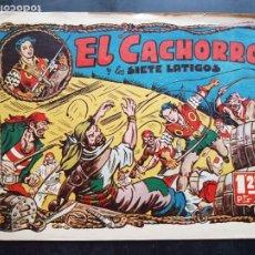 Tebeos: TEBEO / CÓMIC ORIGINAL EL CACHORRO N 5 VALENCIANA 1951 APAISADO. Lote 204327448