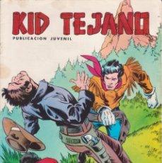 Tebeos: CÓMIC ` COLOSOS DEL CÓMIC / KID TEJANO ´ Nº 11 EDIVAL 1980 DE 30 PTS.. Lote 204364393