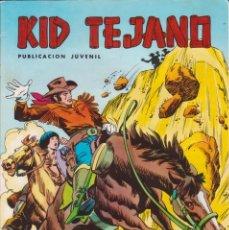 Tebeos: CÓMIC ` COLOSOS DEL CÓMIC / KID TEJANO ´ Nº 12 EDIVAL 1980 DE 30 PTS.. Lote 204364532