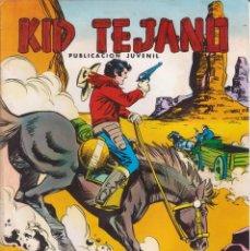 Tebeos: CÓMIC ` COLOSOS DEL CÓMIC / KID TEJANO ´ Nº 18 EDIVAL 1980 DE 30 PTS.. Lote 204364603