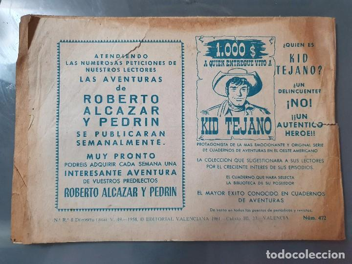 Tebeos: ROBERTO ALCAZAR Y PEDRIN 472 - Foto 2 - 204369713