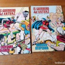 Tebeos: LOTE 2 GUERRERO DEL ANTIFAZ. N. 334, 338. Lote 204376660