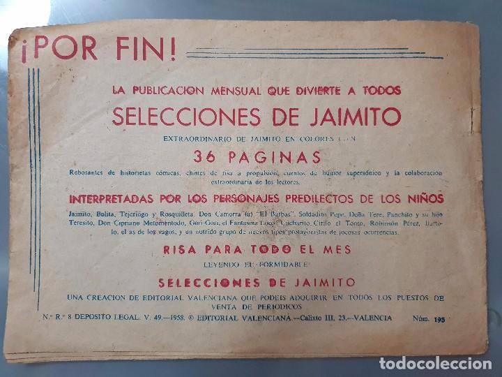 Tebeos: ROBERTO ALCAZAR Y PEDRIN 193 - Foto 2 - 204393398