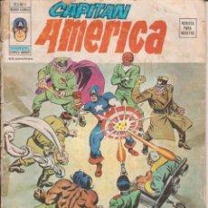 Tebeos: CÓMIC ` CAPITÁN AMÉRICA ´ Nº 3 V.3 ED.VÉRTICE 1976 DE 35 PTS.. Lote 204425798