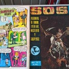 Livros de Banda Desenhada: COMIC SOS AÑO I Nº 2. Lote 204442781