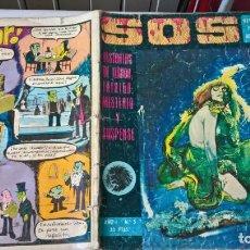 Livros de Banda Desenhada: COMIC SOS AÑO I Nº 5. Lote 204443371