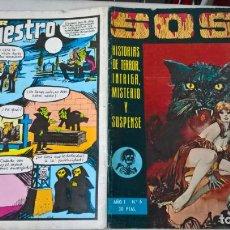 Tebeos: COMIC SOS AÑO I Nº 6. Lote 204443902