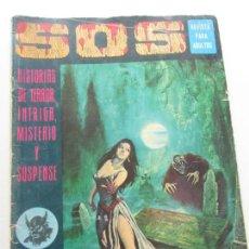 Livros de Banda Desenhada: SOS - 1ª SERIE - Nº 7 - HISTORIA DE TERROR, INTRIGA, MISTERIO Y SUSPENSE VALENCIANA CX57. Lote 204494332