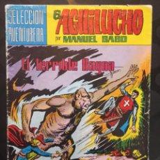 Tebeos: EL AGUILUCHO N.34 EL TERRIBLE BAGOA . SELECCIÓN AVENTURERA N.215 ( 1982 ).. Lote 204536326