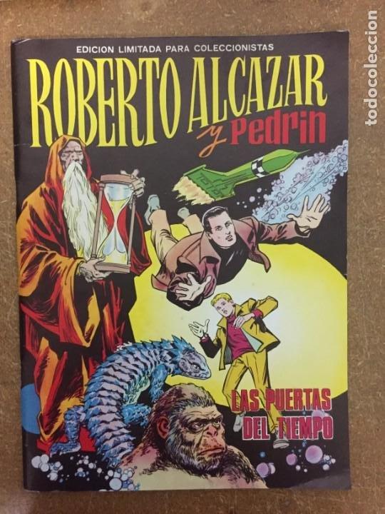 ROBERTO ALCÁZAR Y PEDRÍN. LAS PUERTAS DEL TIEMPO. ÁLBUM GIGANTE (VALENCIANA, 1977) (Tebeos y Comics - Valenciana - Roberto Alcázar y Pedrín)