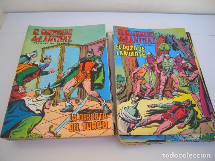 LOTE DE 39 Nº DEL GUERRERO DEL ANTIFAZ (Tebeos y Comics - Valenciana - Guerrero del Antifaz)