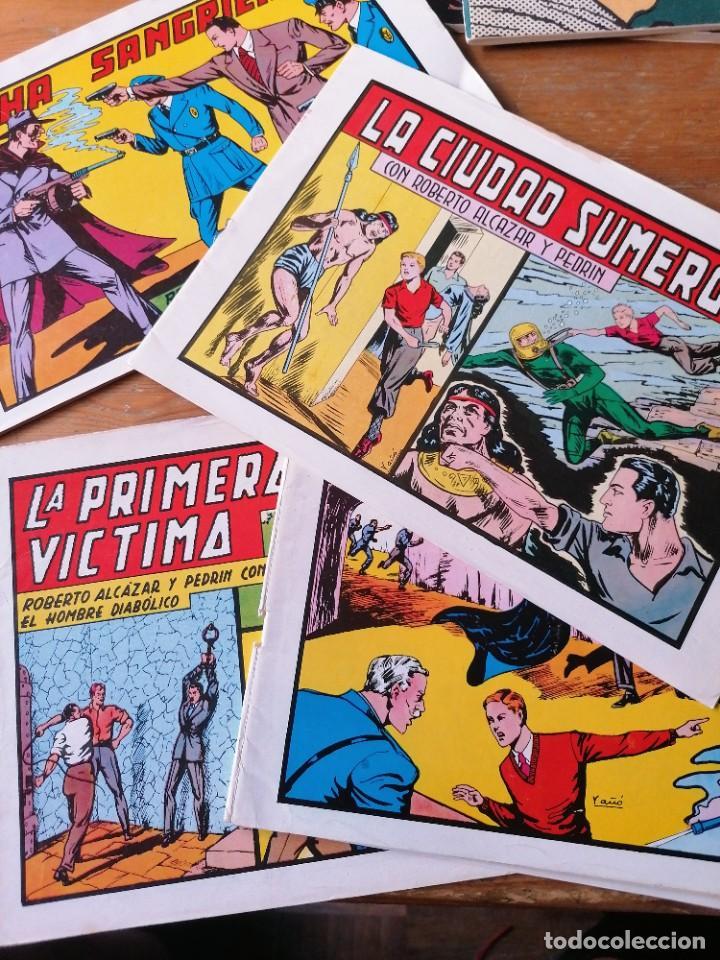 LOTE 4 ROBERTO ALCÁZAR Y PEDRIN (Tebeos y Comics - Valenciana - Roberto Alcázar y Pedrín)