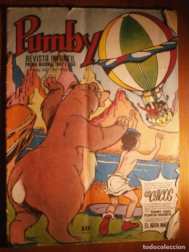 TEBEO - PUMBY - AÑO XXI - Nº 910 - (Tebeos y Comics - Valenciana - Pumby)
