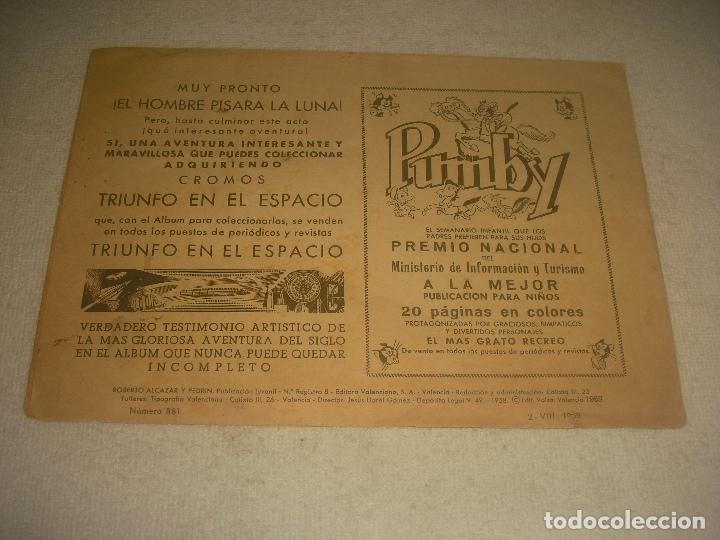Tebeos: ROBERTO ALCAZAR Y PEDRIN N. 881. - Foto 2 - 204818266