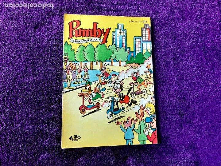 PUMBY Nº 212 EXCELENTE ESTADO (Tebeos y Comics - Valenciana - Pumby)